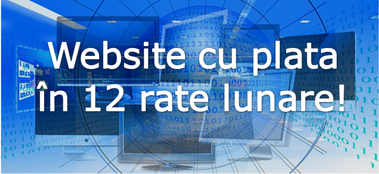 Site cu plata in rate