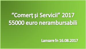 Vrei să primești 55000 euro prin programul Comerț 2017? Vezi aici punctajul necesar pentru șanse reale! Activitățile de comerț au șanse extrem de mici, spre nule!