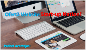 Website pentru Start-up Nation