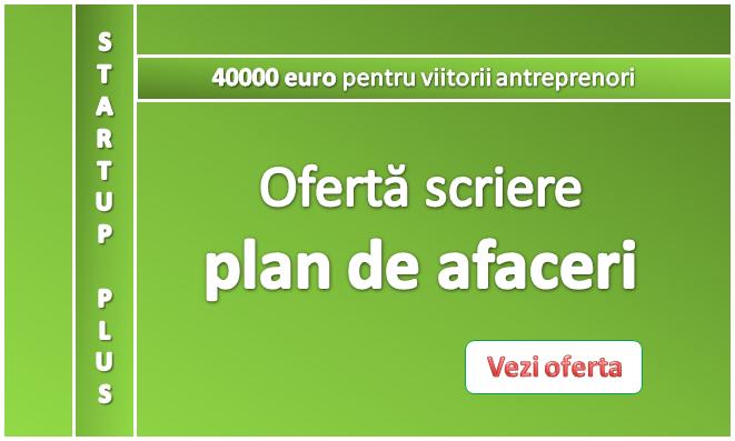 Ofertă specială – plan de afaceri Start-up Plus