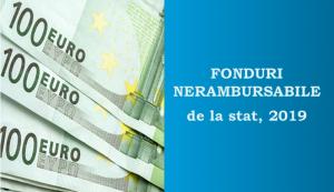 Fonduri nerambursabile 2019